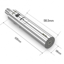eGo One 1100mAh Single Kit (Silver) image 4