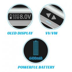 iStick 50W Sub Ohm Box Mod Kit (Black) image 7