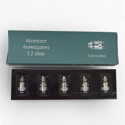 eGo Duo 1.2Ω Atomizer Heads image 1