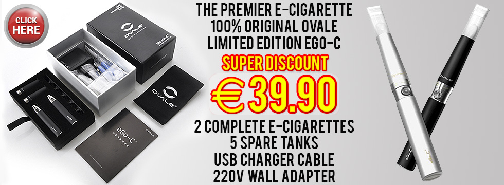 Electronic cigarettes with only water vapor