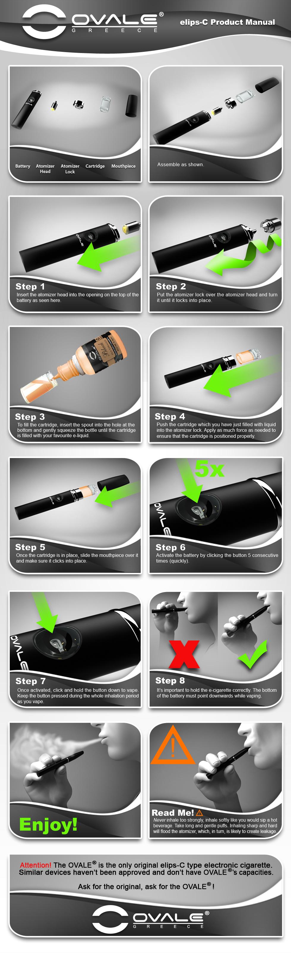 ηλεκτρονικό τσιγάρο, υγρό αναπλήρωσης ηλεκτρονικού τσιγάρου, κόψιμο καπνίσματος, ovale, joyetech, elips